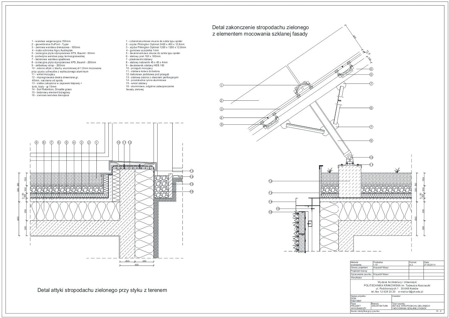 Dom Pasywny Krzysztof Mazur Modelarstwo Architektura